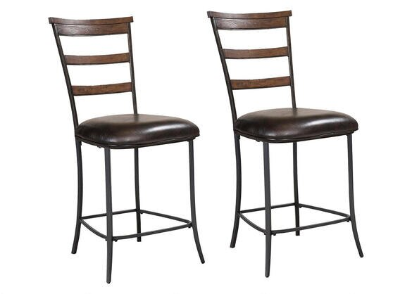 Cameron 2 Pc Ladder Back Stool Set