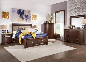 MELBOURNE 7PC KING BEDROOM