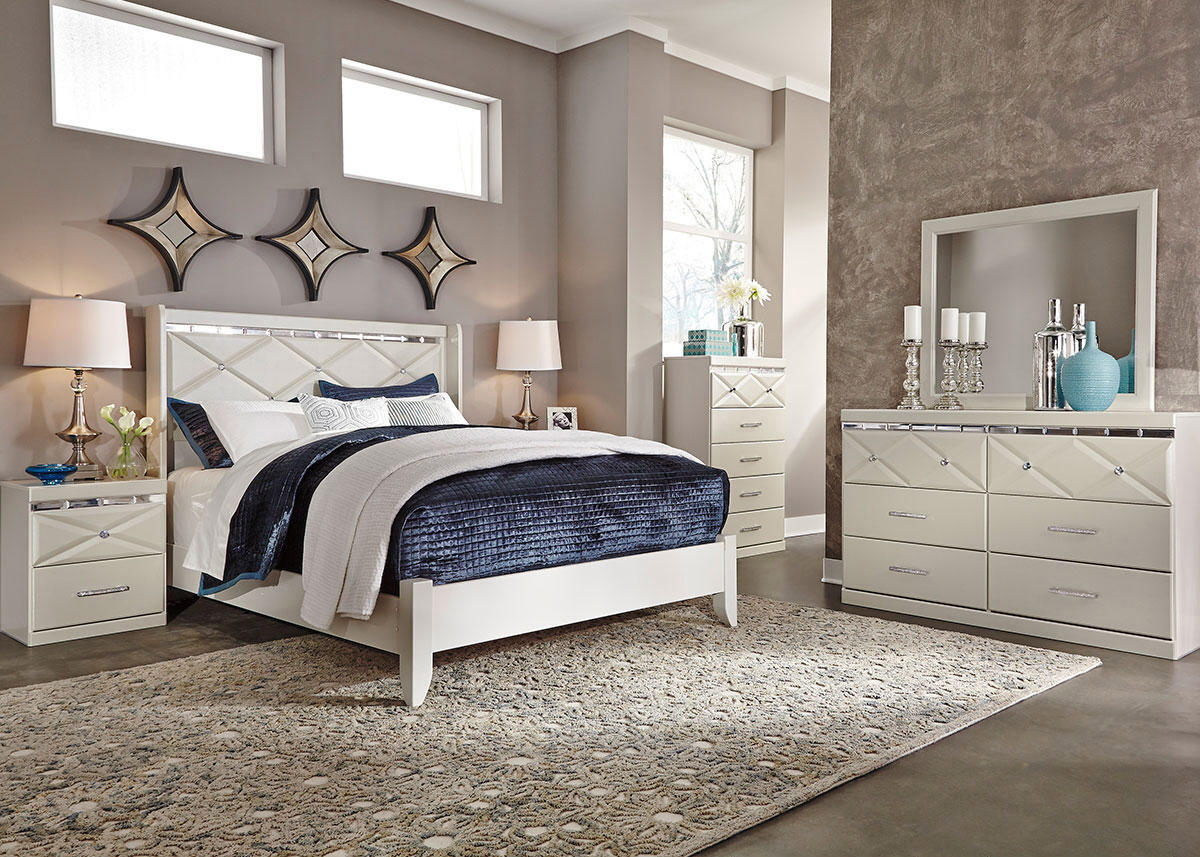 HANNAH 8PC QUEEN BEDROOM