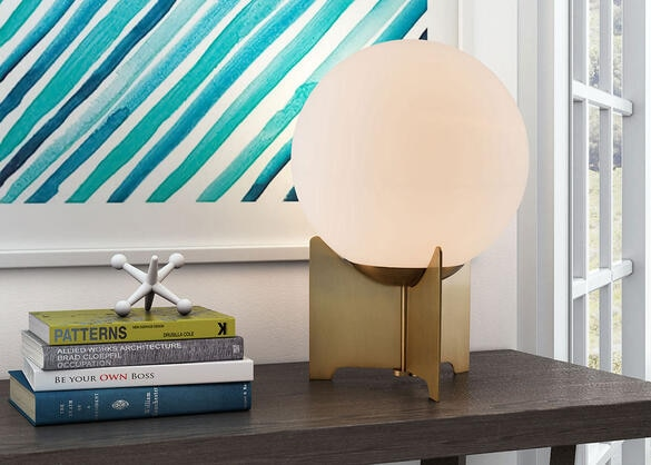 Pearl Table Lamp Bronze