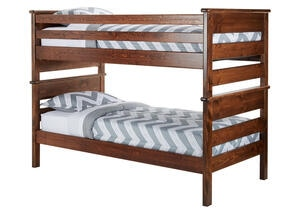 CATALINA TWIN/TWIN BUNK BED CH CHESTNUT