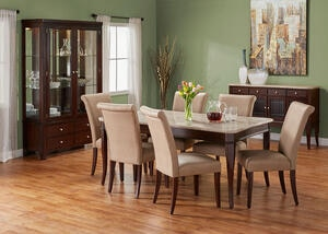 MARTINI 7 PC W/ PARSONS CHAIRS