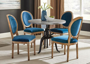 Rhea Peacock 5 Pc. Dinette by Scott Living