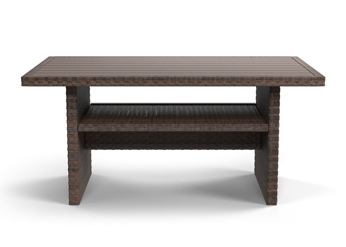 Province Table Brown