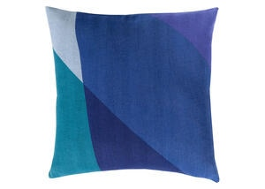 Teori Throw Pillow Navy