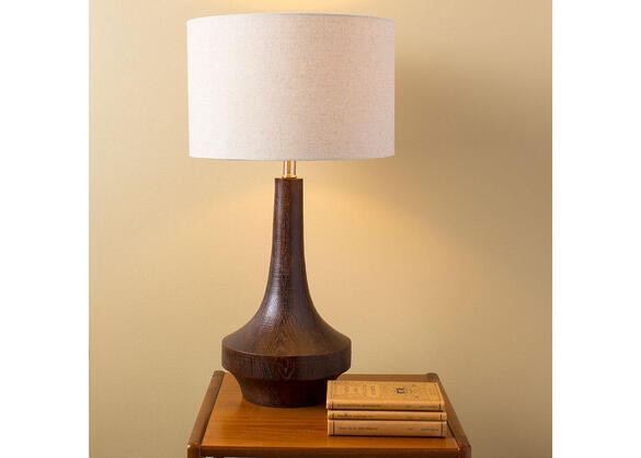 Carson Table Lamp Brown