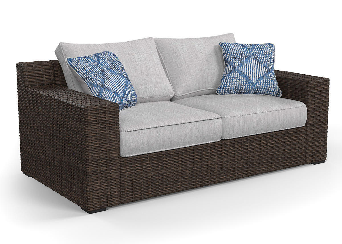 New Haven Loveseat Brown
