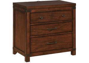 Artesia Three Drawer Nightstand by Scott Living