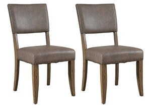 Charleston 2 Pc Parson Dining Chair Set