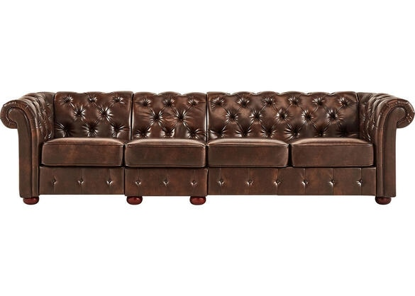 Magnificent Barrington Faux Leather Extra Wide Sofa Pabps2019 Chair Design Images Pabps2019Com