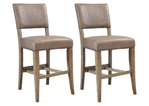 Charleston 2 Pc Parson Stool Set