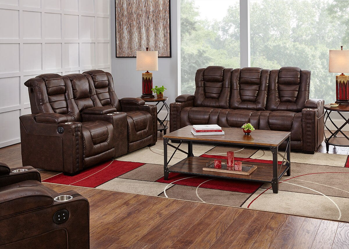 Gibson 3 Pc. Power Living Room