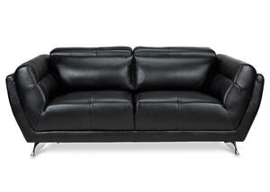 Mars Black Loveseat