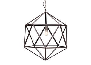 Gemstone Large Ceiling Lamp Brown