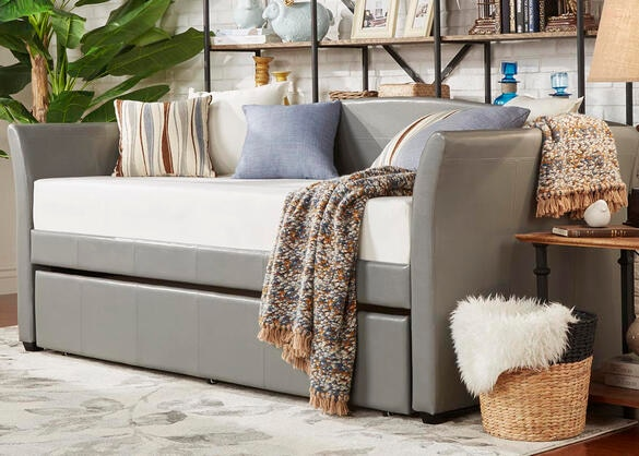 Donovan Gray 3 Pc. Daybed with Trundle