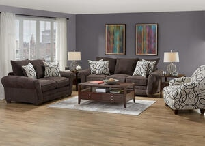 PEYTON 3 PC L.R. W/ACCENT CHAIR
