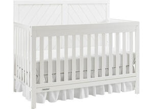 Buckland Snow White Convertible Crib by Fisher Price