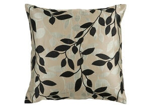 Wind Chime Throw Pillow Brown
