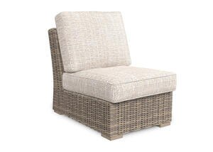 Anchorage Armless Chair Beige