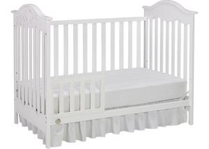Charlotte Rose Snow White Convertible Crib by Fisher Price