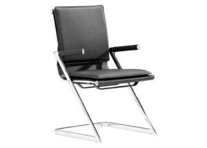 Lider Plus Black Conference Chair