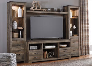 Rainier 4 Pc. Wall Unit