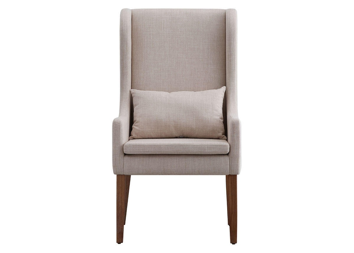 Wingback Chair Beige Richland