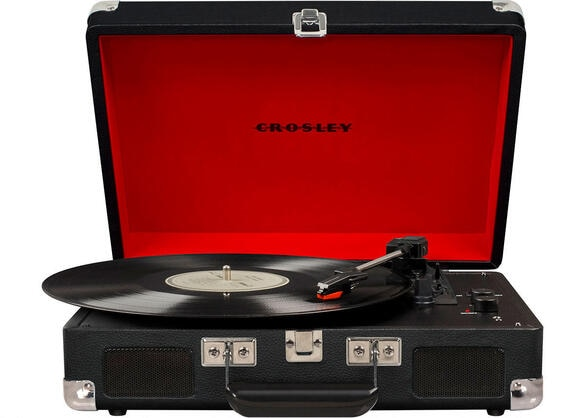 Crosley Cruiser Deluxe Black Turntable