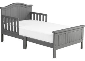 Delmar Misty Gray Toddler Bed