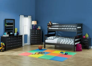Catalina 4 PC T/F BLK BUNK BDRM W/NS