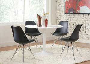 Lowry Black 5 Pc. Dinette
