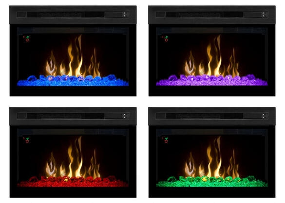 Dimplex Valentina Fireplace Red