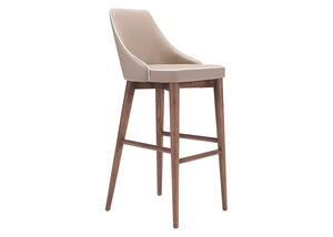 Moor Bar Chair Beige Beige