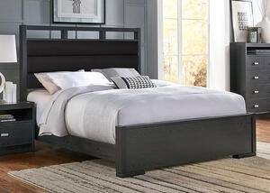 Metro King Upholstered Bed