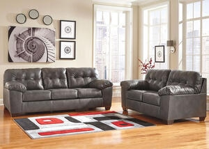 MAXIM 2 PC LIVING ROOM GRAY