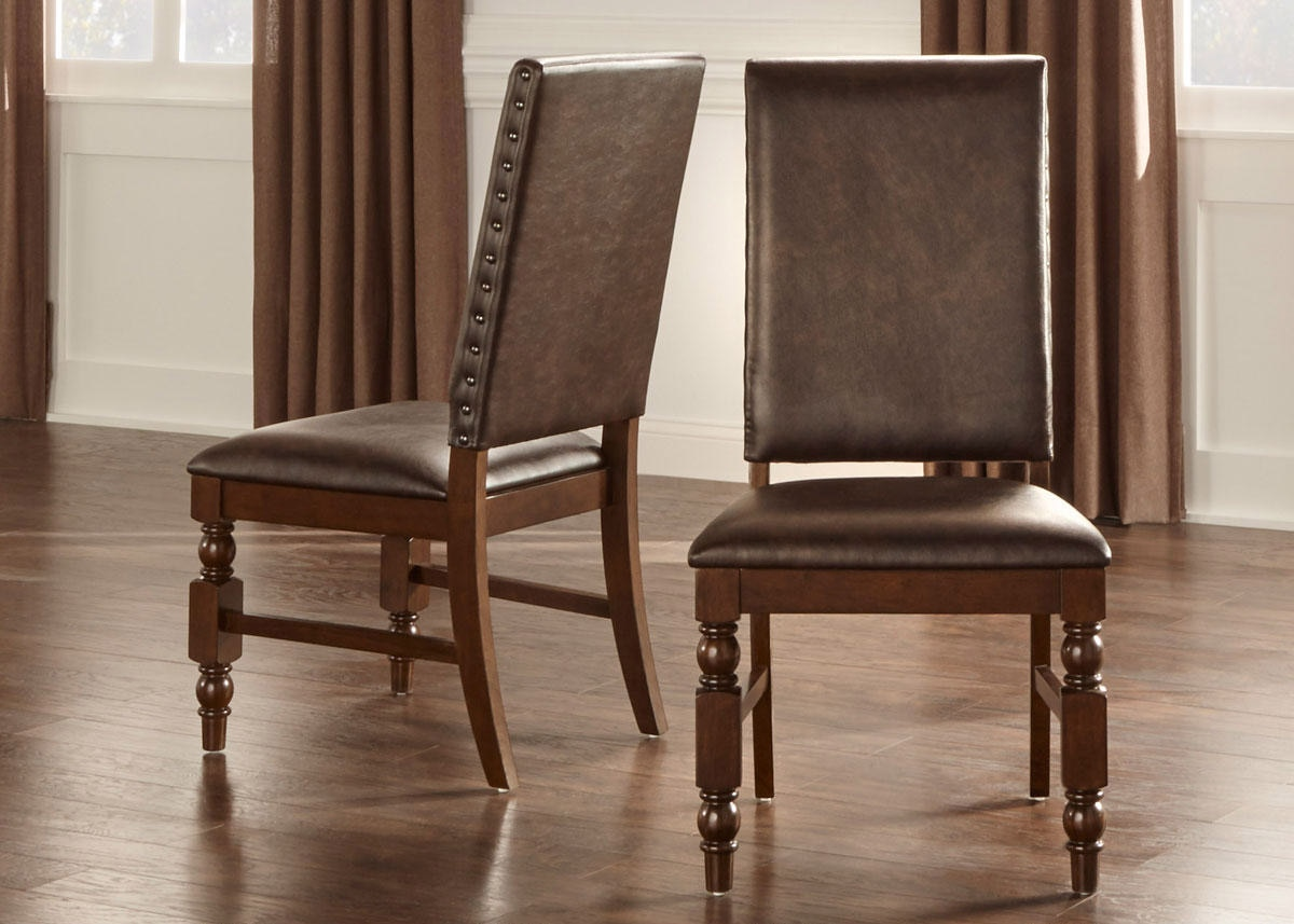 Side Chair Brown Charlotte