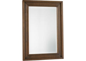 Lucca Weathered Brown Mirror by Dolce Babi
