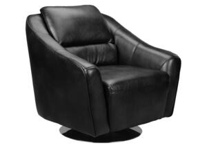 Mars Black Swivel Chair