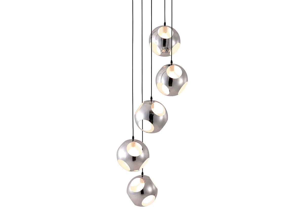 Orbit Ceiling Lamp Gray