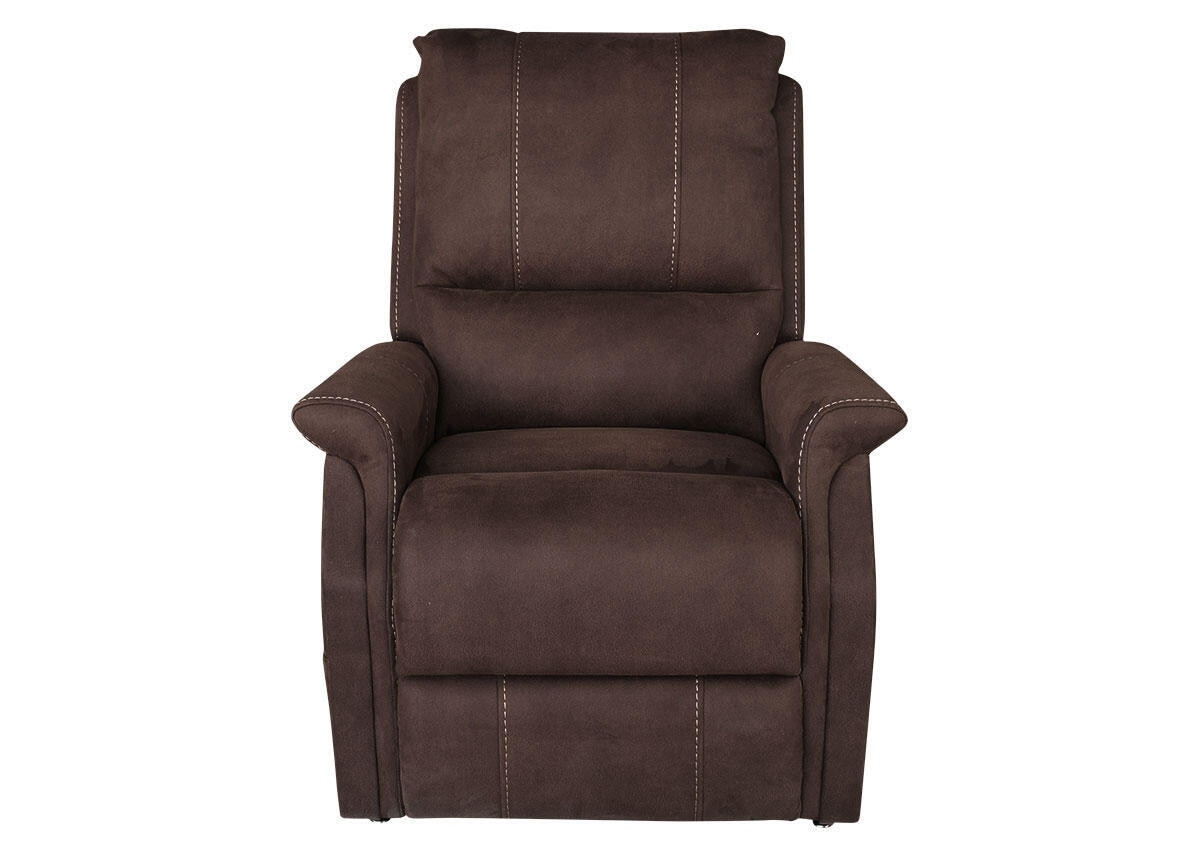 Alpha Pwr Recliner Chocolate