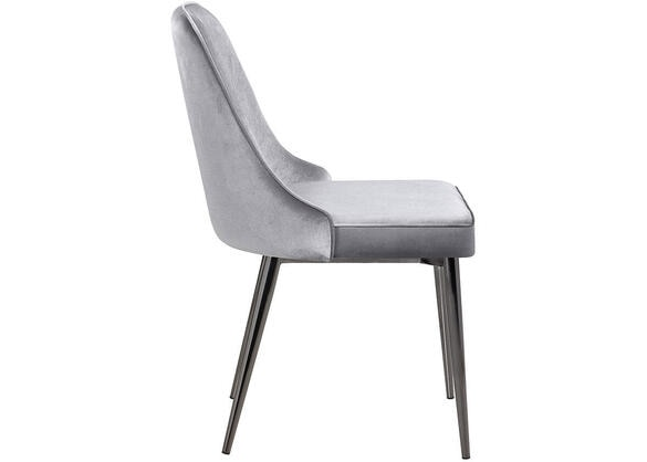 Gray Bucket Chair by Scott Living