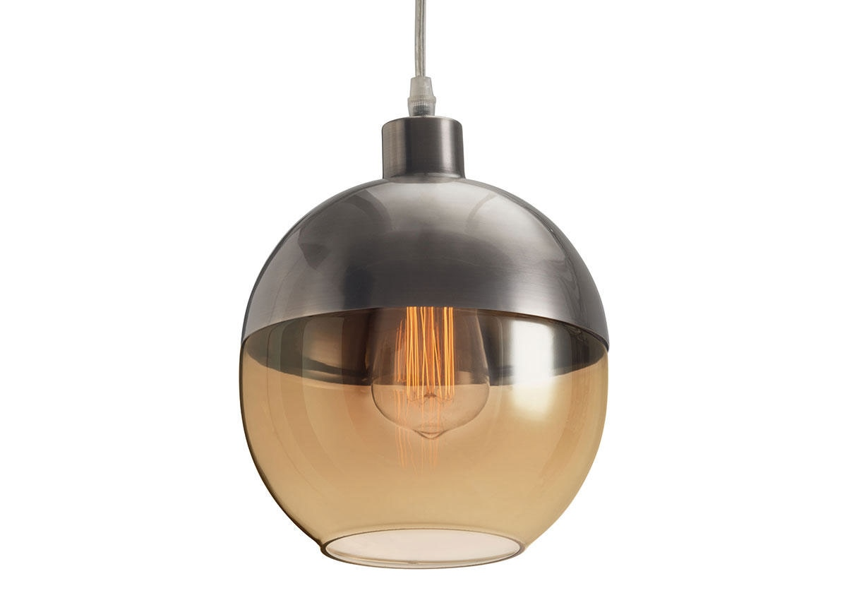 Travis Ceiling Lamp Gray