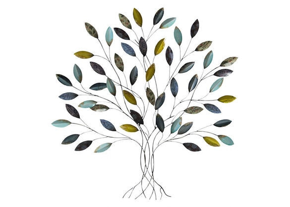 Tree Wall Decor Blue