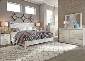 HANNAH 7PC KING BEDROOM