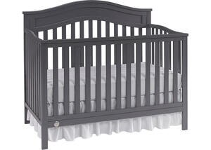Aubree Stormy Gray Convertible Crib by Fisher Price
