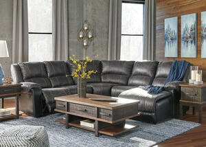 York Slate 5 Pc. Sectional