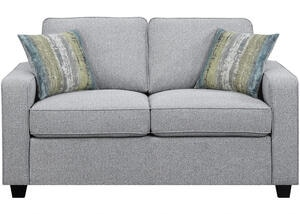 Brownswood Gray Loveseat by Scott Living