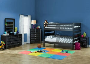 Catalina 4 PC F/F BLK BNK BDRM W/NS