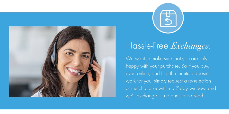 Hassle Free Exchange
