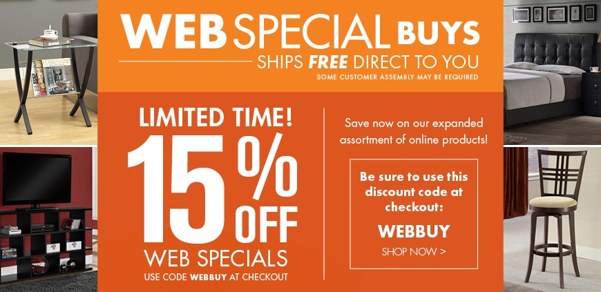 Free Shipping Web Specials